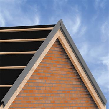 Tile Dry Verge System Pvc Roofnstop Ie